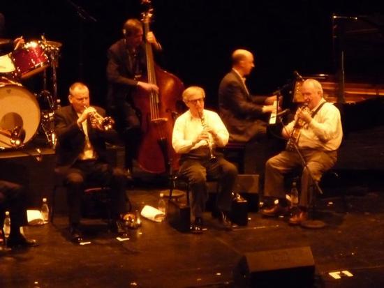 Woody Allen e la New Orleans Jazz Band al Teatro La Fenice - VENEZIA - inserita il 03-Dec-10