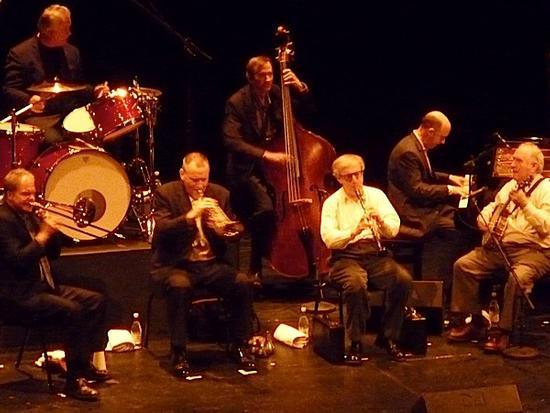 Woody Allen e la New Orleans Jazz Band al Teatro La Fenice - Venezia (2255 clic)