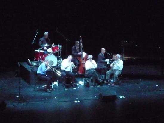 Woody Allen e la New Orleans Jazz Band al Teatro La Fenice - Venezia (2001 clic)