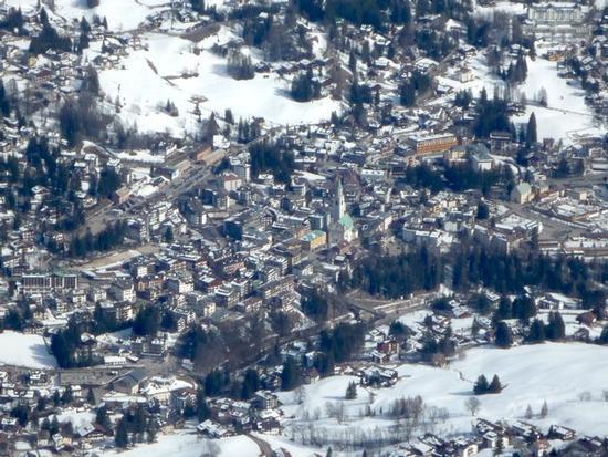 Cortina dall'alto - Cortina d'ampezzo (2995 clic)