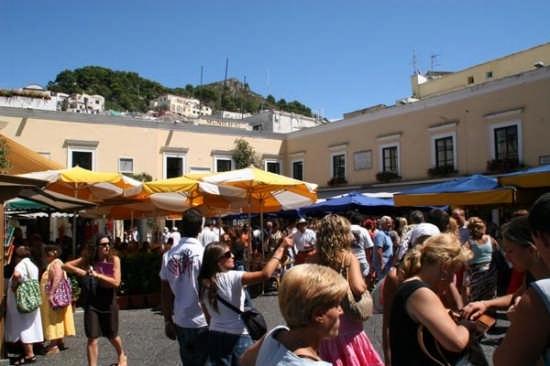 Capri - La Piazzetta (3908 clic)