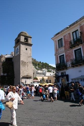 Capri - La Piazzetta (3621 clic)