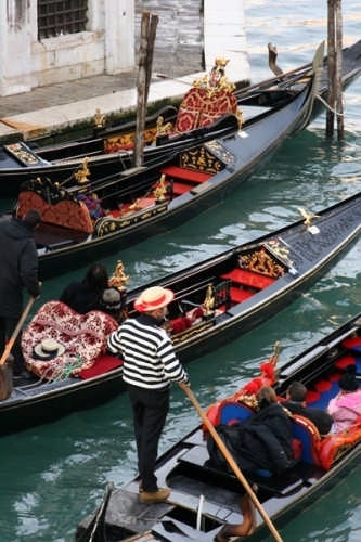 Gondole e Gondolieri - Venezia (17162 clic)