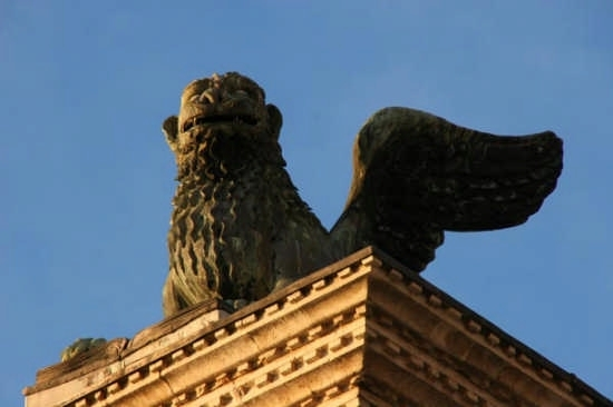 Piazza San Marco, Il Leone - Particolare - Venezia (2988 clic)