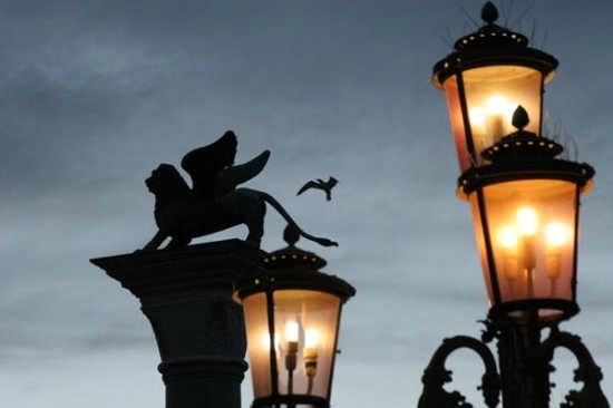 Piazza San Marco, Il Leone - Particolare - Venezia (21634 clic)