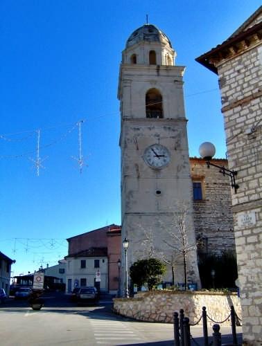 il campanile  , Sirolo(an) 60020  (3388 clic)