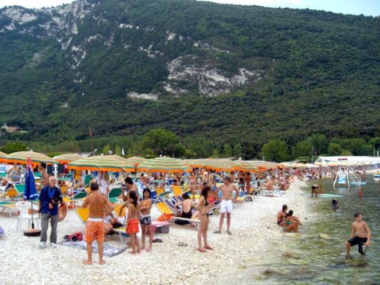 spiaggia di Portonovo - Sirolo (4640 clic)