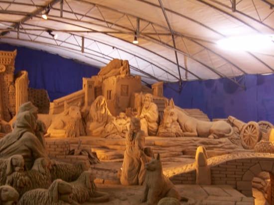 Presepe di sabbia 2007 - Rimini - (1856 clic)
