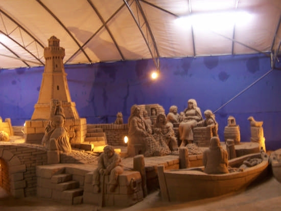 Presepe di sabbia 2007 - Rimini - (1952 clic)