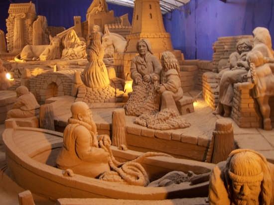 Presepe di sabbia 2007 - Rimini - (3022 clic)