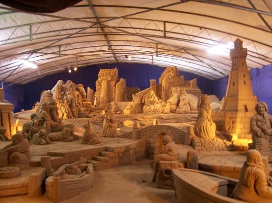Presepe di sabbia 2007 - Rimini (2378 clic)