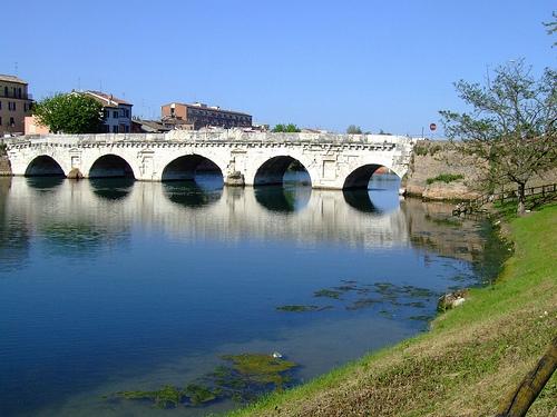 Rimini - Ponte di Tiberio | RIMINI | Fotografia di SILVANA DRUDA -  HOTEL HAWAY***B&B