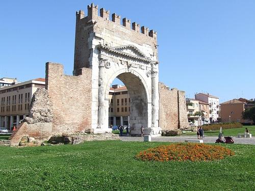 Rimini - Arco d'Augusto (4161 clic)