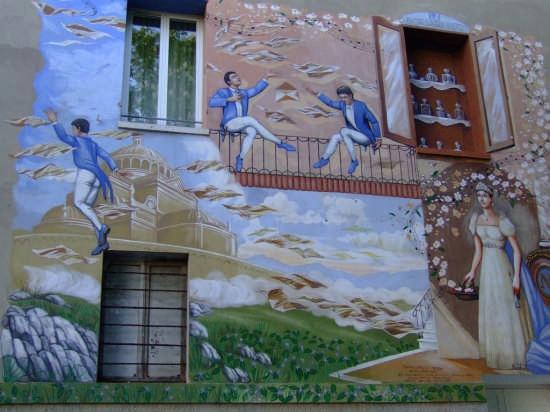SALUDECIO - I MURALES DEL BORGO (4096 clic)