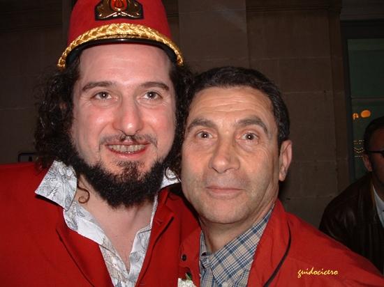Io e Vinicio Capossela   - MODICA - inserita il 18-Mar-08