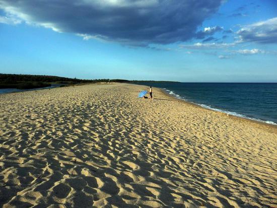 Tramonto sulla spiaggia - Nuoro (5361 clic)