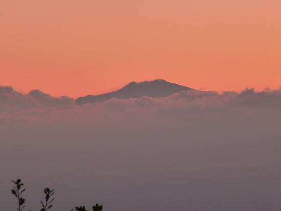 L'etna sopra le nuvole - Gambarie (3475 clic)