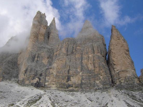 le tre cime di lavaredo (parete sud) - Bolzano (3793 clic)