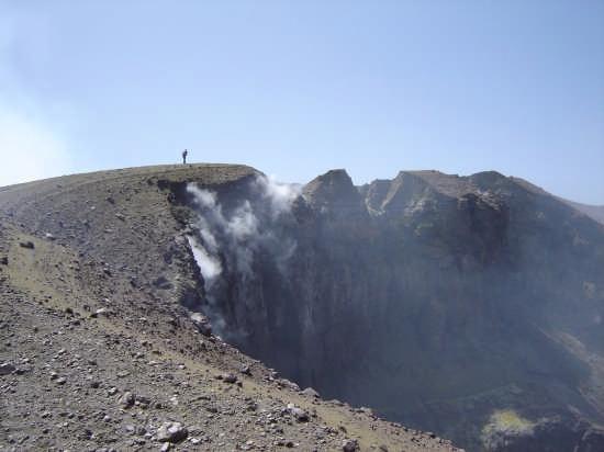 cratere di nord-est - Etna (4184 clic)