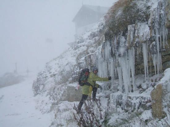 Rifugio Auronzo -6°C!!!!!!!!!!!!!!! - Auronzo di cadore (6125 clic)