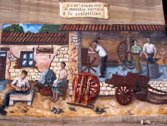 Murale di vita - Oliena (5878 clic)