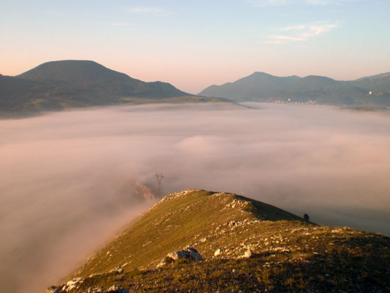 Un mare di nebbia - Pescocostanzo (2683 clic)