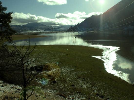 Lago di santa chiara  - Pescocostanzo (4880 clic)