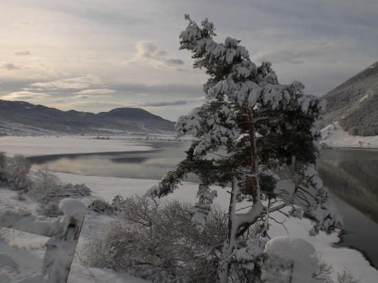 lago effimero - Pescocostanzo (3677 clic)
