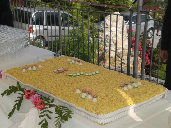 torta nunziale del 05/07/2008 - Rivisondoli (2402 clic)