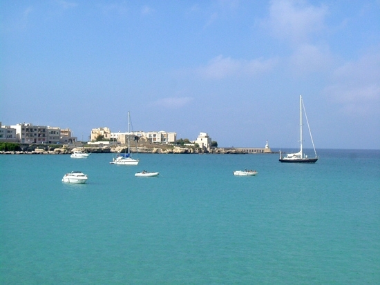 Calma piatta - Otranto (3397 clic)