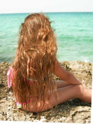 la bambina...e il mare - Caserta (4273 clic)