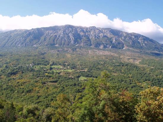 Caramanico il monte Morrone - Caramanico terme (3069 clic)