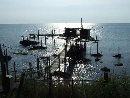 un trabocco antica macchina da pesca - Fossacesia (3376 clic)