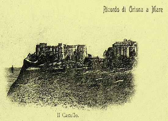 1900 il castello da sud - Ortona (3318 clic)