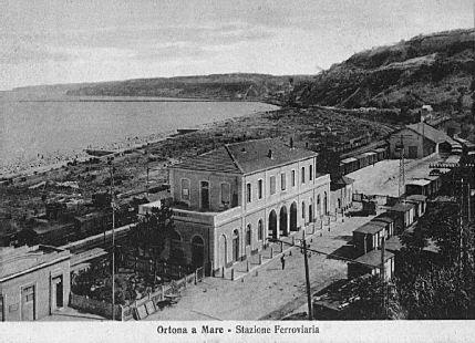 stazione ferroviaria 1929 - Ortona (4431 clic)