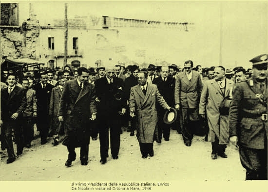 il Presidente dell Repubblica Enrico De Nicola - Ortona (6615 clic)