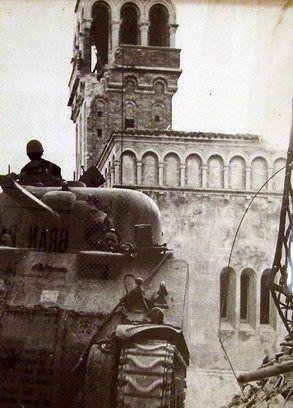 la torre civica 1943 - Ortona (2757 clic)