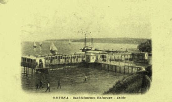 anni 30 lo stabilimento balneare Iride - Ortona (4110 clic)