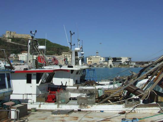 il porto peschereccio - Ortona (2167 clic)