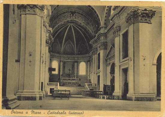 Ortona interno Cattedrale San Tommaso 1951 (5184 clic)