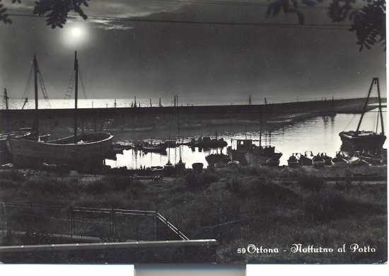 Ortona  notturno 1950 (4371 clic)