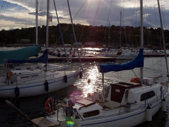 tramonto  - Ortona (2359 clic)
