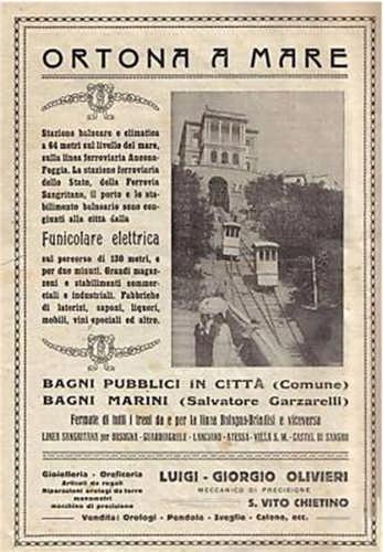 la funicolare-pubblicità d'epoca - Ortona (5367 clic)