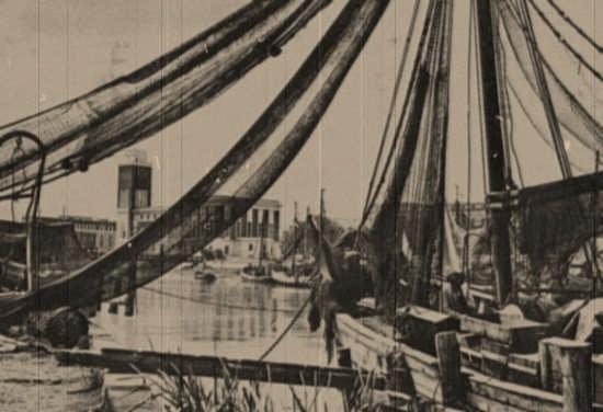 il porto canale 1930 - Pescara (4451 clic)