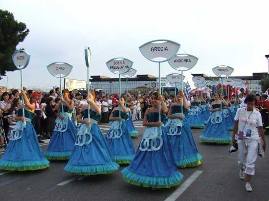 XVI giochi del Mediterraneo-cerimonia di chiusura - PESCARA - inserita il 06-Jul-09
