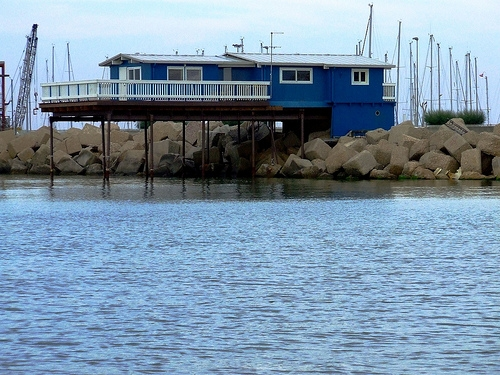 trabocco sul molo nord - Pescara (6532 clic)