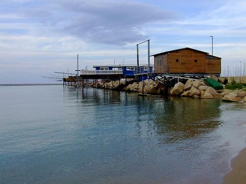 trabocchi sul molo nord - Pescara (5459 clic)