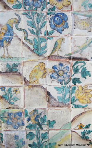 Maioliche, oratorio del Sabato - Palermo (2254 clic)