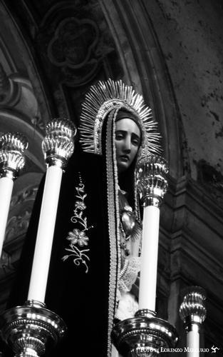 Madonna Addolorata, chiesa di San Matteo al Cassaro - Palermo (3407 clic)