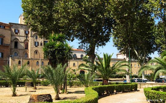 Villa Bonanno e Palazzo Reale - Palermo (2678 clic)